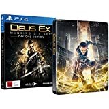 Deus Ex: Mankind Divided (PS4) [SPECIAL DAY ONE STEEL-BOOK EDITION] [BONUS DLCS]