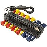 CC-JJ - 16 In 1 Golf Accessories 12 Plastic Golf Tees Holder Pencil
