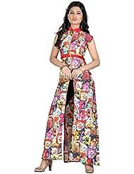 High Street Fashion Style Women's DIGITAL PRINTED TOP - B01LF6FFL6