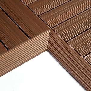 NewTechWood QD-IF-IP QuickDeck Composite Deck Tile Inside