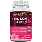 MuscleXP Biotin Hair, Skin & Nails Complete MultiVitamin With Amino Acids (36 Nutrients) 60 Tablets