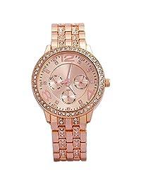 COSMIC Geneva Fashion Forever Bling Golden Dial Women's Watch- W 01 5