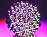 MagneatoSpheres (6mm) Nickel Magnetic Balls and Magnetic Spheres-The Larger and More Challenging Magnetic Toy for Adults 14+