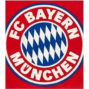 FC Bayern München Teppich Wappen 135 x 150 cm: Amazon.de