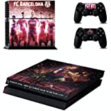 AL Pacino FCB Messi Theme Sticker For Playstation 4