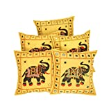 Traditional Pillows Floral Olive Green Cushion Cover For Decor