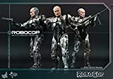 Movie Masterpiece Robocop (battle damage version) and Alex Murphy (Set of 2) 1/6 scale plastic-painted action figure (secondary shipment)