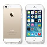 LUVVITT® FROST Soft Slim Clear TPU Rubber Case / Back Cover For IPhone 5 / 5S (Retail Packaging) - Crystal Clear...