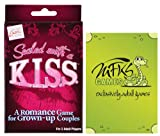 Sealed with a K.I.S.S. - Adult Card Game For Couples - Bundle - 2 Items