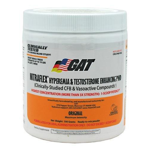 GAT NITRAFLEX Orange -- 300 Grams