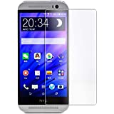 HTC One E9s Tempered Glass, Anti-Scratch, Bubble Free, Anti-Fingerprints & Oil Stains Coating (For HTC One E9s)