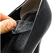 Footinsole Shoes Inserts For Heels - Transparent Massage Gel Cushion Pad - Relief From Foot Pain 2 Pairs
