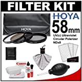 Canon Optical Lens And Digital SLR Camera Cleaning Kit With Brush Microfiber Cloth Fluid & Tissue + Hurricane...