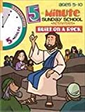 Legacy Press - Rainbow Publisher 126265 5 Minute Sunday School Activities Built On A Rock Ages 5 10
