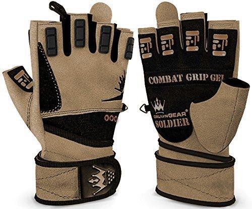 Crown Gear Soldier Weightlifting Gloves