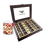 Chocholik Luxury Chocolates - Trendy Collection Of Chocolates With Love Mug