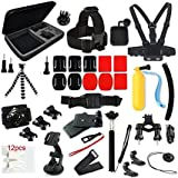 J Sports Action Camera Accessories Kit For GOPRO HERO 3 Black
