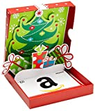 Amazon.com $100 Gift Card in a Holiday Pop-Up Box (Classic White Card Design)