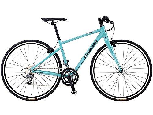 ビアンキ(BIANCHI) CYCLE 2016 ROMA-3 (CLARIS 2x8s) クロスバイク チェレステ 46