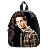 Custom Dylan O'Brien Teen Wolf Small Black Backpack Kid's School Bag Student Shoulder Bag