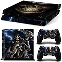 Elton Death-Under-Lightening Theme 3M Skin Decal Sticker For PS4 Playstation 4 Console Controller