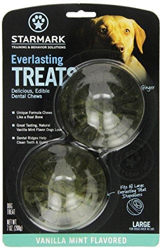 StarMark Pet Products Everlasting Treats Large Vanilla / Min