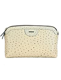 Adamis Beautiful Designed Handbag (Beige_B703)