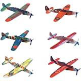 "Rhode Island Novelty 8"" Flying Glider Plane Set"