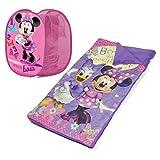 Disney Minnie Mouse Sleeping Bag And Hamper Set