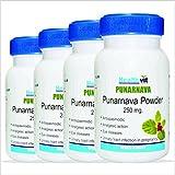 HealthVit Punarnava Powder 250 Mg 60 Capsules - Pack Of 7