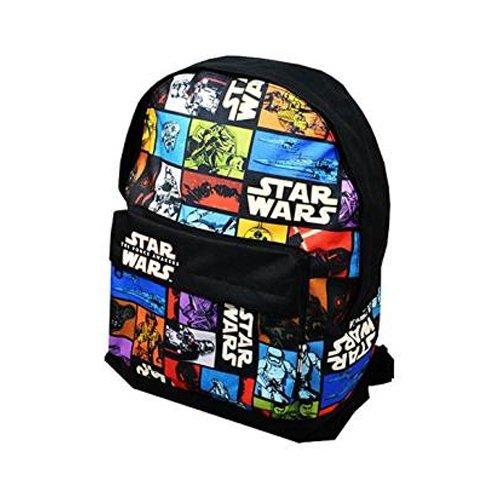 Star Wars - Mochila para niños, diseño de El despertar de la fuerza, multicolor (multicolor) - STAR001048