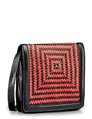 Phive Rivers Rowa Women Sling Bag Black/Red