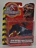 Jurassic Park III Eric Kirby and Alpha Pteranodon by Hasbro