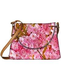 Snoogg Unique Flowers Designer Womens Carry Around Sling Bags