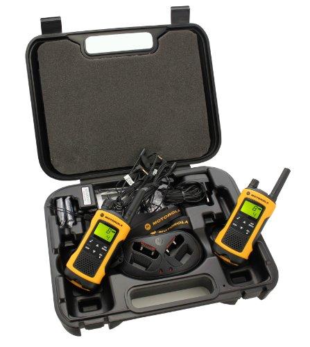 Motorola 59T80EXPACK - Emetteur et récepteur radio PMR jaune pour talkie-walkie-walkie