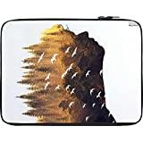 Snoogg Forest In A Silhouette 2631 12 To 12.6 Inch Laptop Netbook Notebook Slipcase Sleeve