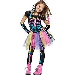 Fun World Funky Punk Bones Child's Costume Medium (8-10)