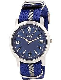 WATCH ME Blue Nylon Blue Dial Watch For Men Blue Nylon Blue Dial Watch For Men Watch MeAL-181