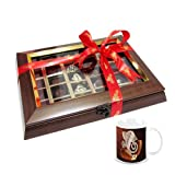 Chocholik Belgium Chocolate Gifts - Attractive Chocolate Collection With Diwali Special Coffee Mug - Diwali Gifts