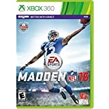MADDEN NFL 16 - XBOX 360 - NEW AND FACTORY SEALED - FAST SHIPPING!!!