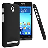 Premium Rubberized Matte Hard Back Case Cover For Asus Zenfone C - Black
