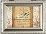 Cottage Garden 50Th Anniversary Champagne Silver Music Jewelry Box Plays Amazing Grace