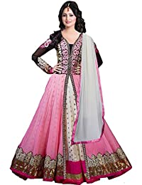 Grapsy Fashion Pink And Black Color Salwar Suit