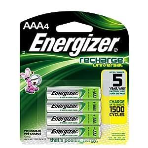 Amazon.com: Energizer Recharge Universal 500 mAh AAA