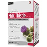 IOTH Silymarin Milk Thistle Extract - Non Synthetic! 80% Silymarin Flavonoids - 60 Easy To Swallow Softgel Capsules