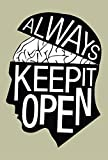 Posterboy 'Keep It Open' Poster