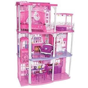 Spielzeug zum kleinen Preis: Barbie Glam Haus für 40 € bei amazon im Angebot!