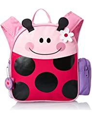 Stephen Joseph Little Girls' Mini Sidekick Backpack, Ladybug, One Size