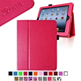 Fintie (Hot Pink) Folio Leather Case Cover For IPad 4th Generation With Retina Display The New IPad 3 & IPad 2...