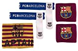 Barcelona FC Accessory Set - Wristbands / Sockties & Captain Armband